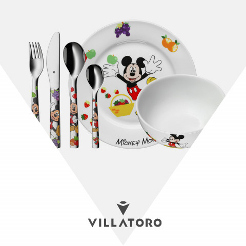 Vajilla WMF Mickey Mouse