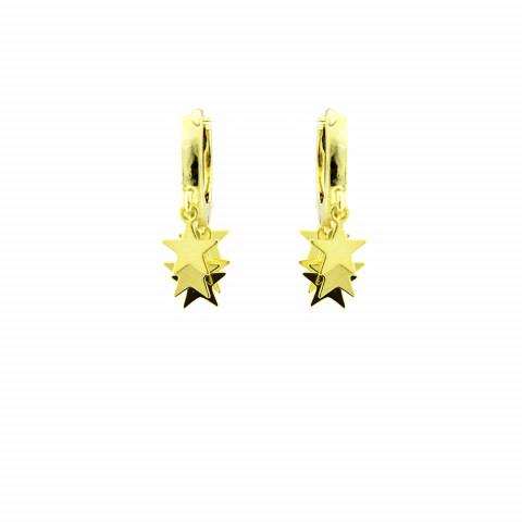 Argollas Mil Stars Golden